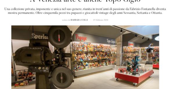 Ytali – A Venezia arte è anche Topo Gigio