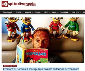Creature di Gomma, Il Vintage toys diventa collezione permanente – L'Ospite di Venezia